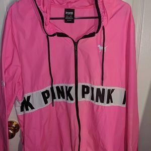 Pink Windbreaker